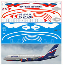1/144  PAS-DECALS. Revell. Airbus A-380 AEROFLOT