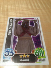 STAR WARS Force Awakens - Force Attax Trading Card #067 Tusken Raider