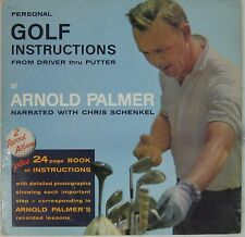 Golf 33 tours Instructions from driver thru putter Arnold Palmer
