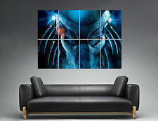 PREDATOR FACE MASK Wall Poster Grand format A0  Print