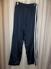 LEE SPORT Men's NAVY Warm-up ATHLETIC Pants Lined Knit Size XL