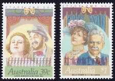 AUSTRALIA 1989 Stars of Stage/Screen short set 39c & $1 only MNH @E2193