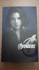 Hot Toys MMS 178 The Avengers Iron Man Black Widow Scarlett Johansson Figure NEW