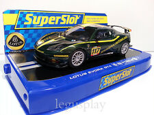 Slot SCX Scalextric Superslot H3506 Lotus Evora GT4 Nº117 Thierry Verhiest
