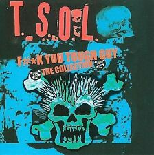 T.S.O.L. F#*k You Tough Guy: The Collection CD Code Blue Dance With Me Wash Away