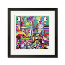 Dalek Space Monkey Urban Graffiti Abstract Poster Print