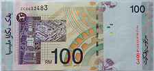RM100 Zeti sign Replacement Note ZC 0633483