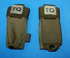 Para-X 2 each TQ Carrier for C-A-T Tourniquet MOLLE Coyote Camo Military Unused