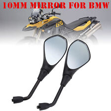 Motorcycle Rearview Mirror For BMW F650GS F800GS F800R Aprilia Tuono SL750 NR