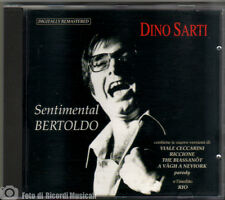 DINO SARTI - SENTIMENTAL BERTOLDO Anno 1994 CD MERCURY **MINT COME NUOVO**