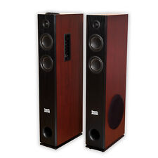 Acoustic Audio TSi500 Bluetooth Powered Floorstanding Tower Home Speaker Pair