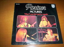 """PARTNER  """"PICTURES""""  /  """"WON'T YOU LET ME TRY AGAIN""""   7 INCH 45    1978"""