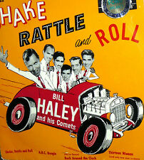"EP BILL HALEY AND HIS COMETS 7""  SHAKE RATTLE AND ROLL +3 ITALY 1958"