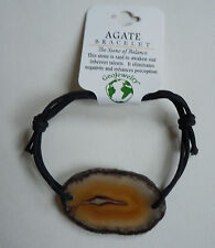 Brazilian AGATE BRACELET - US Seller - Natural Stone Fashion Jewelry - NEW A31