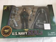 U.S. Navy Seals Action Figure Set Recon Water Craft & Oars Frog Gear by Excite
