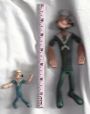 1968 Popeye Bendable ...Lot of 2
