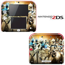 Vinyl Skin Decal Cover for Nintendo 2DS - Star Wars Clone Wars Trooper