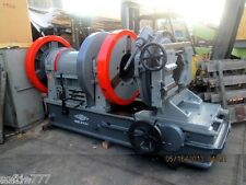 "LARGE LANDIS 16"" PIPE THREADING AND CUTTING MACHINE W/ 18 INCH THRU HOLE!"