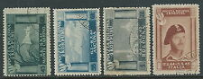 1946 CORPO POLACCO USATO 4 VALORI - U23-4
