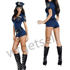 Officer B Naughty Costume Police Woman Cop Uniform Fancy Dress Outfit Hen Night