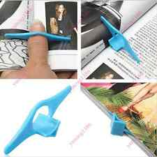 5x Reading Multifunction Thumb Book Page Holder Marker Finger Ring Bookmark Yuno
