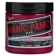 Manic Panic Semi Permanent Hair Color Cream Hot Hot Pink 4 oz