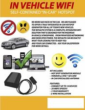 BRAND NEW ITEM IN VEHICLE WIFI SELF CONTAINED IN CAR FACTORY GRADE AUTO WIFI
