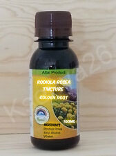 RHODIOLA ROSEA TINCTURE GOLDEN ROOT  WILD HARVESTED FROM ALTAI MOUNTAINS 100ml