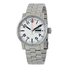 Fortis Spacematic Automatic White Dial Mens Watch 623.10.42 M