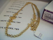 Lia Sophia Four-Tet Necklace RV $98 NIB