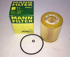 5 x ÖLFILTER MANN-FILTER HU821X MERCEDES W211 W221 280 320 CDI W164 OILFILTER