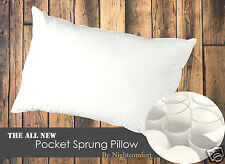 Pocket Sprung Pillow / Bounce Back Pillow With Springs / Pillows