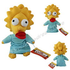"The Simpsons Maggie Simpson 9.5"" / 24cm Soft Plush Doll Toy"