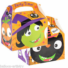 5 Haunted Halloween Party Spooky Fun Friends Gift Loot Favour Treat Boxes