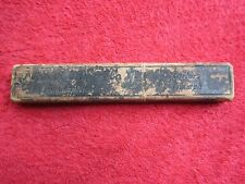 CAPITAL CUTLERY Co INDIANAPOLIS IN BARBERS TRIUMPH STRAIGHT RAZOR EMPTY BOX ONLY