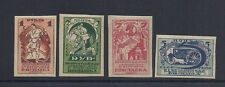RUSSIA 1923 AGRICULTURE and CRAFTSMANSHIP EXPO (Sc 242-45) VF MNH
