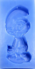 Smurf Silicone Mold for Fondant, Gum Paste, Chocolate, Crafts