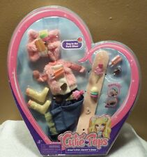"NEW Cutie♡Pops ""Day in the Park"" Wear, Doll Clothing Set, Jada Toys 2012 Pink"