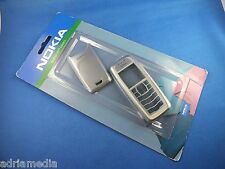 Original Nokia 3100 Xpress-on  Front Back Cover 0274547 CC-161D Silber Silver