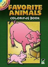 Favorite Animals Coloring Book (Dover Little Activity Books)