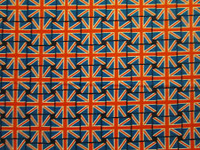 BRITISH UK FLAG SMALL LONDON COTTON FABRIC BTHY