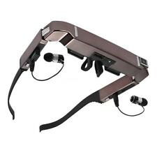 "VISION-800 80"" Smart Android WiFi 3D Video Glasses 5MP HD Camera Bluetooth N9Y6"