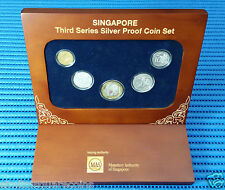 2013 Singapore Third Series Silver Proof Coin Set