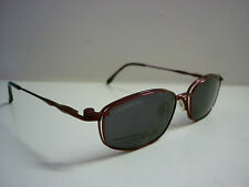 Genuine Designer Glasses Frames By Cool Clip CC825 Clip On Sunglasses in Red