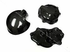 2009 2010 2011 2012 Kawasaki ZX6R Carbon Fiber Engine Cover & Clutch Cover