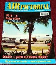 Air Pictorial 1999 October Pilatus PC12,Sobelair