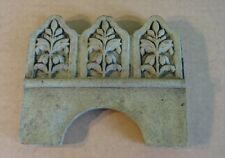 GREEK ROMAN FLORAL CONCRETE BORDER EDGING GARDEN STEPPING STONE MOLD 5005