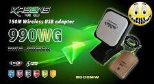 Kasens-990WG 6000MW hacking antenna wireless 10 km Hacker wpa WiFi Network