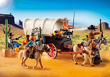 Playmobil Western 5248 Covered Wagon with Cowboy Bandits Raiders NEW