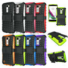 Heavy Duty Shockproof Hard Armor KickStand Skin Case Cover For LG K7 Tribute 5